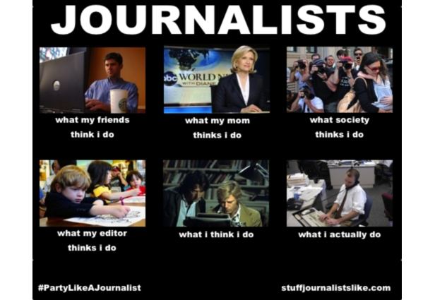 What journalists do