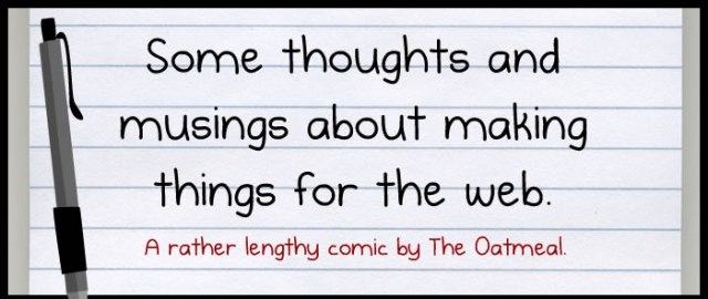 The Oatmeal Musings Content Creation Header