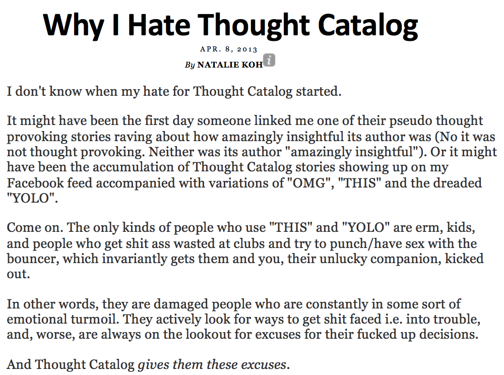 Thought catalog sex stories