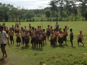 Sumbanese school children