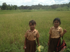 Sumbanese village girls