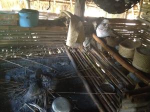 Inside a Sumbanese house