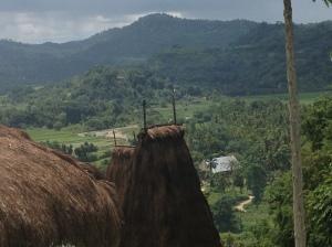 Mountains and Village on Sumba Island