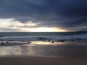 Sunset on Sumba Island