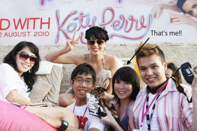 Katy Perry in Singapore