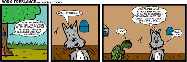 Born_Freelance Comic by Jason M Tucker