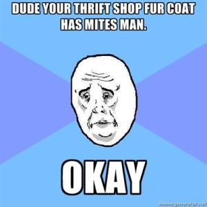 Thrift shop okay meme