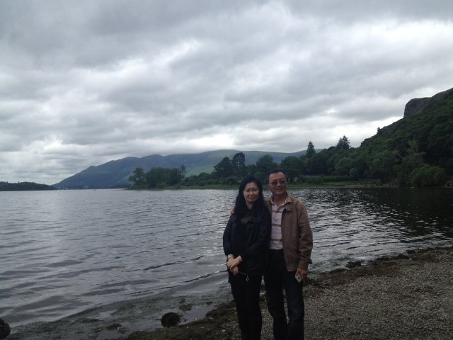 Mum and dad at Lake District