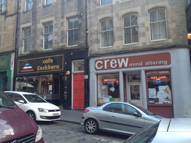 Bizarre shops in Edinburgh