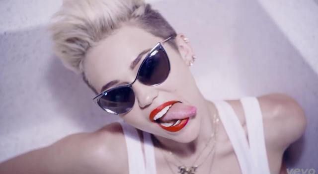 Miley's tongue 1
