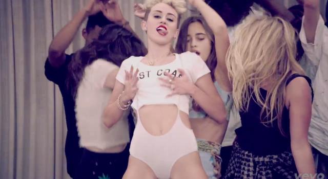Miley's tongue 7