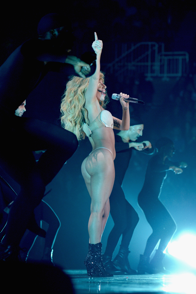 lady gaga butt