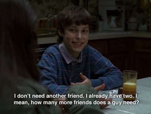 dont need another friend