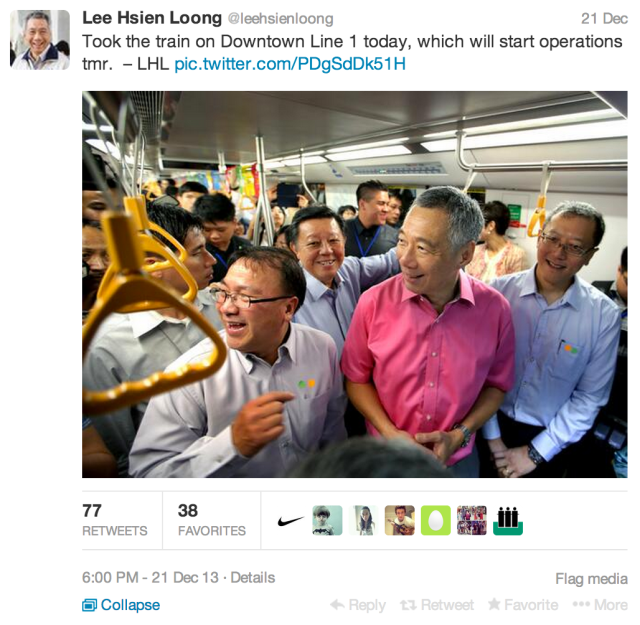 LHL Downtown Line Twitter