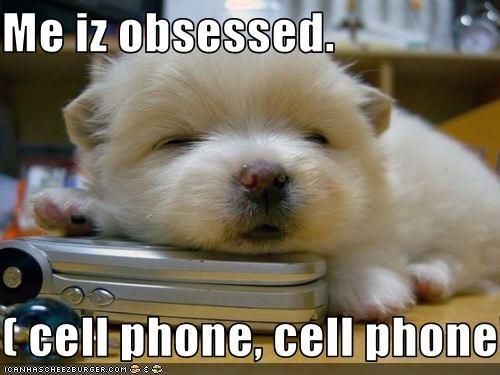 phone obsession cute
