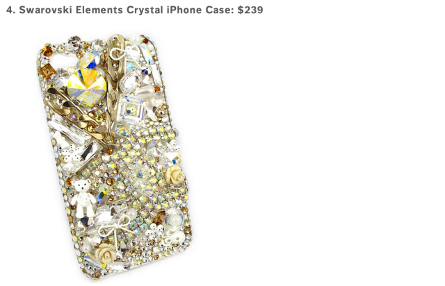 Swarovski Elements Phone Case