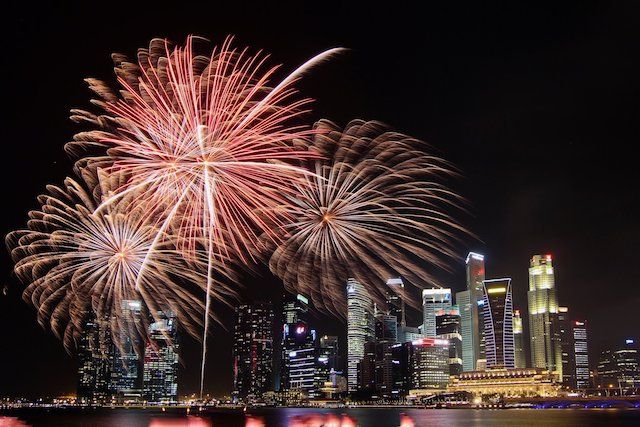 NDP Fireworks by Nicholas Yeo